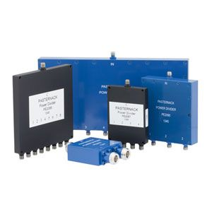0.5 to 2.7 GHz Wilkinson Power Dividers