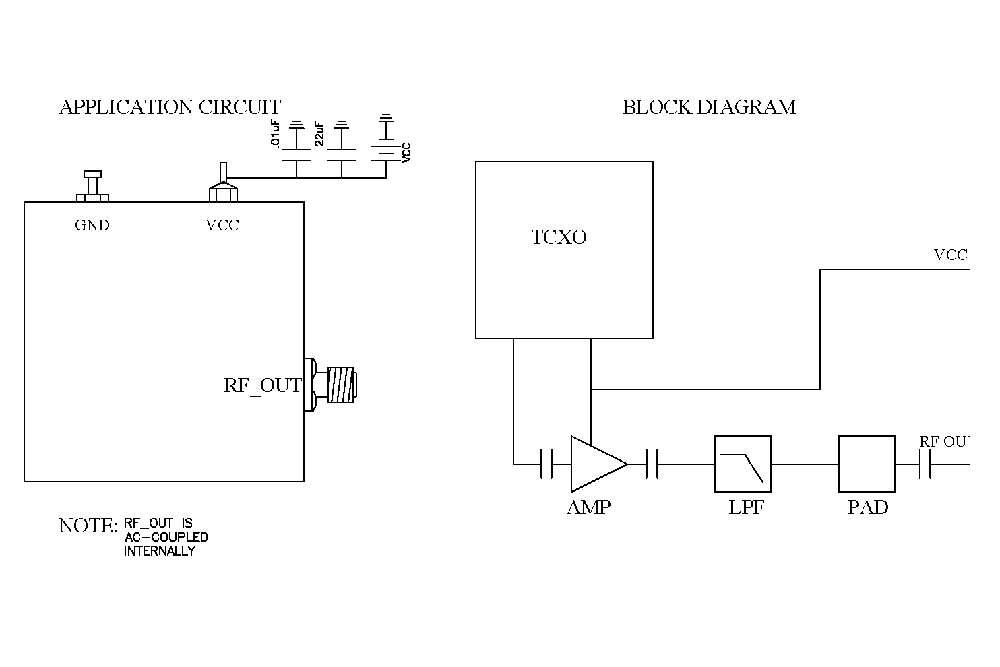 10 MHz Free Running Reference Oscillator, Internal Ref., Phase Noise -150 dBc/Hz, SMA