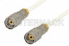 1.85mm Male to 1.85mm Male Precision Cable Using 098 Series Coax, RoHS