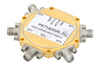 38 dB High Isolation SP4T PIN Diode Switch DC to 20 GHz, 3.8 dB Insertion Loss with SMA