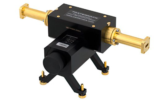 0 to 50 dB Waveguide Direct Read Attenuator, WR-42, From 18 GHz to 26.5 GHz, UG-595/U Flange