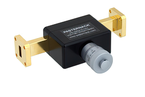 0 to 180 Degree WR-42 Waveguide Phase Shifter, From 18 GHz to 26.5 GHz, With a UG-595/U Flange