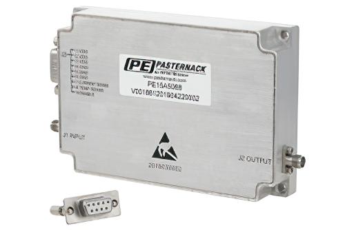5 Watt Psat, 2 GHz to 18 GHz, High Power GaN Amplifier, SMA, 37 dB Gain, Class AB