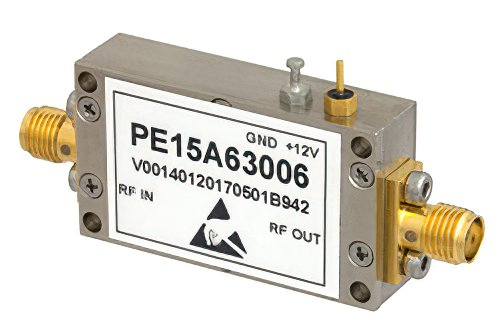 1.2 dB NF, 10 dBm P1dB, 1 GHz to 1.4 GHz, Input Protected Low Noise Amplifier, 30 dB Gain, SMA