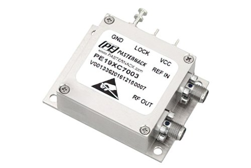 4 GHz Phase Locked Oscillator, 10 MHz External Ref., Phase Noise -95 dBc/Hz, SMA