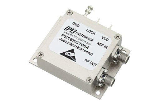 6 GHz Phase Locked Oscillator, 10 MHz External Ref., Phase Noise -95 dBc/Hz, SMA