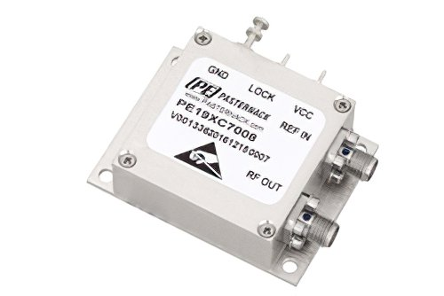 4 GHz Phase Locked Oscillator, 100 MHz External Ref., Phase Noise -110 dBc/Hz, SMA