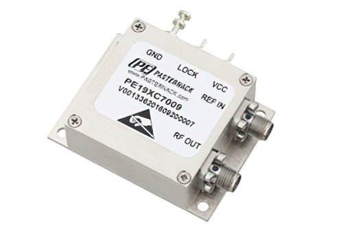 6 GHz Phase Locked Oscillator, 100 MHz External Ref., Phase Noise -90 dBc/Hz, SMA