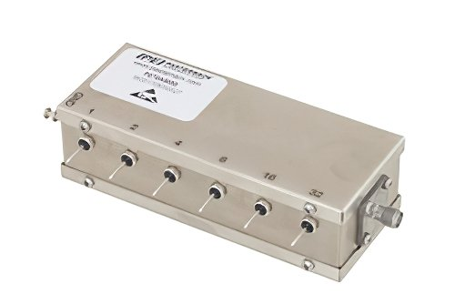 6 Bit Relay Controlled Programmable Attenuator, 63 dB Up to 1,000 MHz, 1 dB Steps, +12V, SMA Female