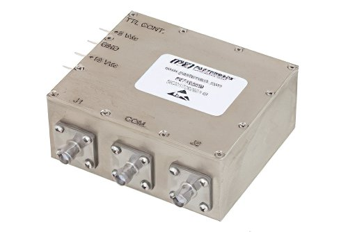 SPDT PIN Diode Switch Operating From 100 MHz to 500 MHz Up to 250 Watts (+54 dBm) and SMA