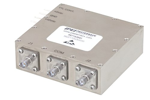 Absorptive SPDT PIN Diode Switch Operating From 800 MHz to 2.7 GHz Up to 100 Watts (+50 dBm) and SMA