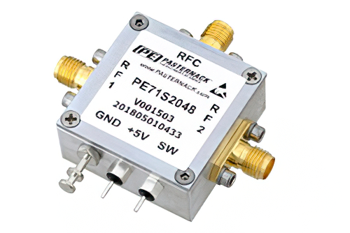 SPDT PIN Diode Switch Operating from 50 MHz to 1.5 GHz Up to 4 Watts (+36 dBm) and SMA