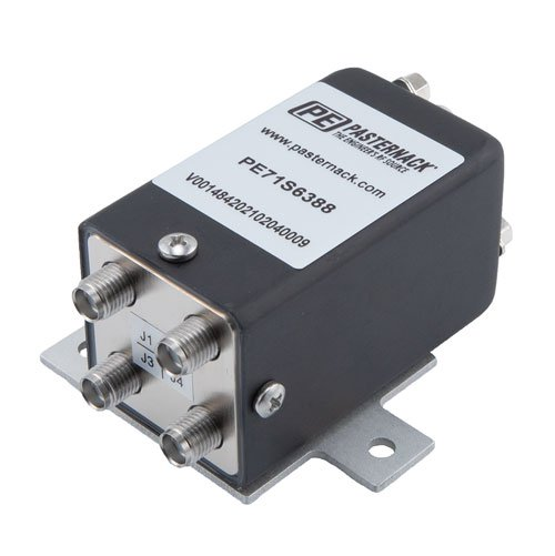 Transfer Electromechanical Relay Failsafe Switch, DC to 18 GHz, up to 90W, 12V, SMA