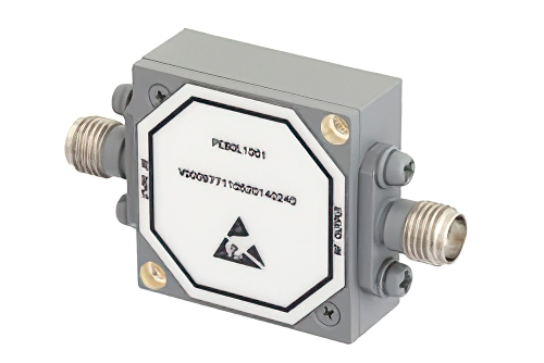 SMA High Power Limiter, 100 Watts Peak Power, 40 ns Recovery, 13 dBm Flat Leakage, 2 GHz to 8 GHz