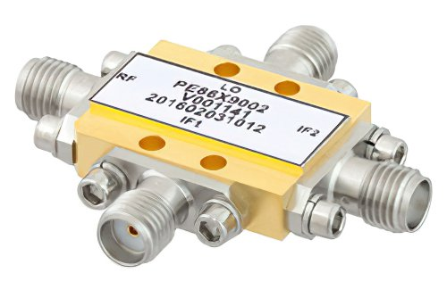 IQ Mixer Operating From 8.5 GHz to 13.5 GHz With an IF Range From DC to 2 GHz And LO Power of +19 dBm, Field Replaceable SMA