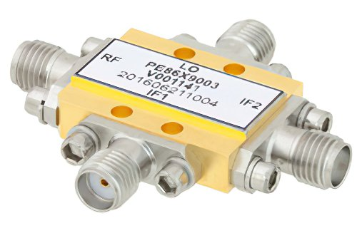 IQ Mixer Operating From 11 GHz to 16 GHz With an IF Range From DC to 3.5 GHz And LO Power of +19 dBm, Field Replaceable SMA