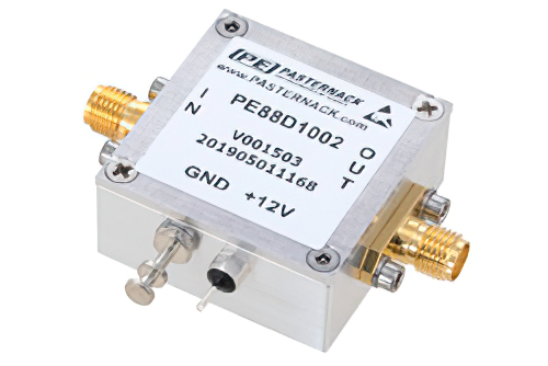 Frequency Divider, Divide by 10 Prescaler Module, 200 MHz to 6 GHz, SMA