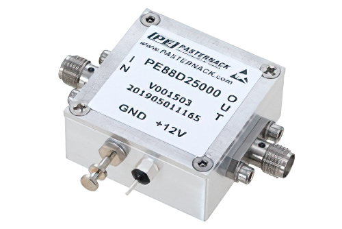 Frequency Divider, Divide by 5 Prescaler Module, 100 MHz to 7 GHz, SMA