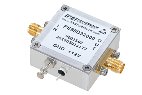 Frequency Divider, Divide by 32 Prescaler Module, 400 MHz to 4 GHz, SMA