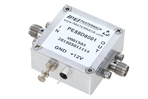 Frequency Divider, Divide by 8 Prescaler Module, 500 MHz to 18 GHz, SMA