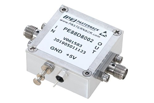 Frequency Divider, Divide by 8 Prescaler Module, 100 MHz to 20 GHz, SMA