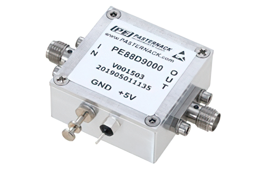 Frequency Divider, Divide by 9 Prescaler Module, 100 MHz to 15 GHz, SMA