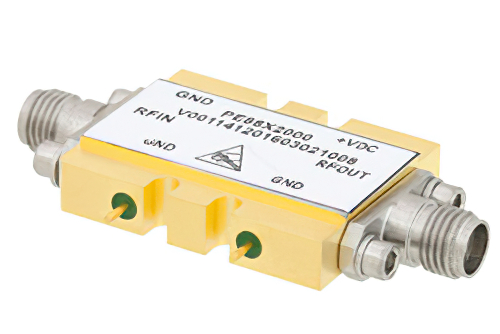 2x Frequency Multiplier Module, 18 GHz to 29 GHz Output Frequency, +11 dBm Output Power, Field Replaceable 2.92mm