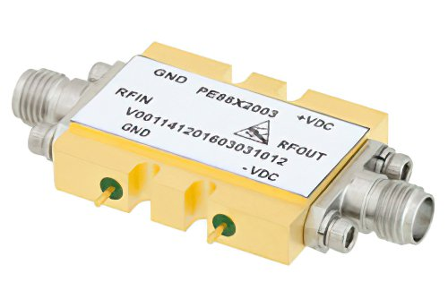 2x Frequency Multiplier Module, 8 GHz to 21 GHz Output Frequency, +10 dBm Output Power, Field Replaceable SMA