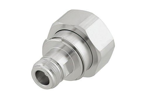 Straight Adapter RF Industries N Female To 7//16 DIN Male