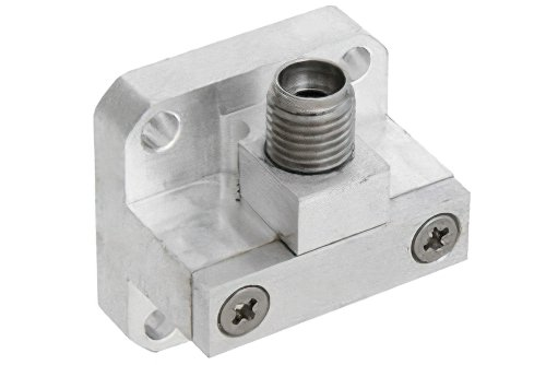 WR-34 Square Cover Flange to 2.92mm Female Waveguide to Coax Adapter Operating From 22 GHz to 33 GHz, K-Ka Band
