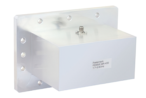 WR-430 CMR-430 Flange to SMA Female Waveguide to Coax Adapter Operating From 1.7 GHz to 2.6 GHz, L-S Band