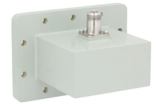 WR-340 CPR-340F Flange to N Female Waveguide to Coax Adapter Operating From 2.2 GHz to 3.3 GHz, S Band