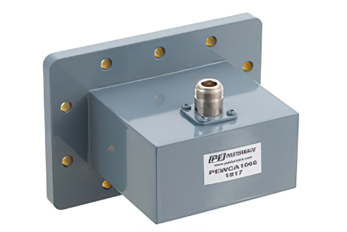 WR-340 CPR-340F Flange to N Female Waveguide to Coax Adapter Operating from 2.2 GHz to 3.3 GHz