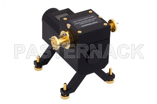 0 to 50 dB Waveguide Direct Read Attenuator, WR-12, From 60 GHz to 90 GHz, UG-387/U Flange