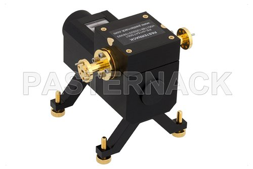0 to 50 dB Waveguide Direct Read Attenuator, WR-15, From 50 GHz to 75 GHz, UG-385/U Flange