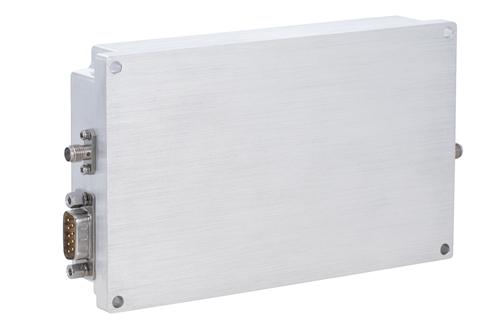 47 dB Gain, 50 Watt Psat, 1.5 MHz to 30 MHz, High Power VDMOS Amplifier, SMA, Class AB