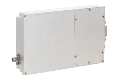 48 dB Gain, 50 Watt Psat, 500 MHz to 2.5 GHz, High Power GaN Amplifier, SMA, Class AB