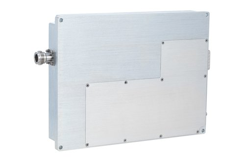 53 dB Gain, 200 Watt Psat, 800 MHz to 1 GHz, High Power LDMOS Amplifier, SMA Input, Type N Output, Class AB