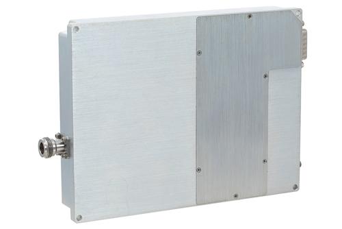 53 dB Gain, 200 Watt Psat, 1 GHz to 2 GHz, High Power GaN Amplifier, SMA Input, Type N Output, Class AB