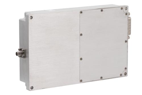 46 dB Gain, 40 Watt Psat, 2 GHz to 6 GHz, High Power GaN Amplifier, SMA, Class AB