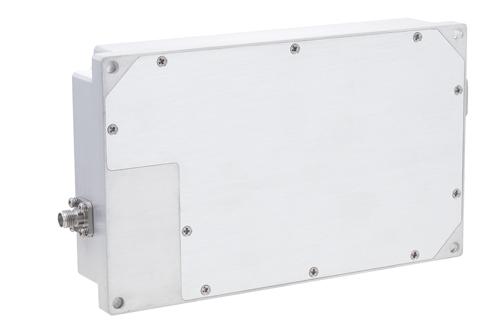 40 dB Gain, 10 Watt Psat, 6 GHz to 18 GHz, High Power GaN Amplifier, SMA, Class AB