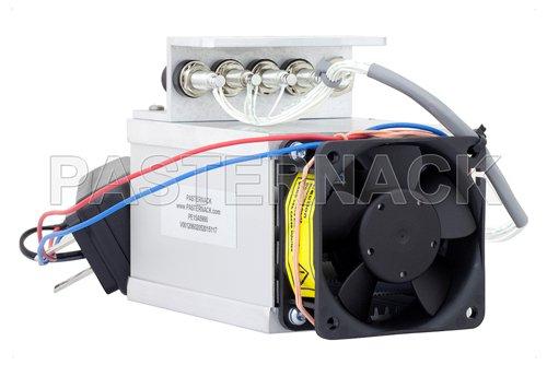 Heat Sink with Fan for RF Power Amplifier PE15A5024, PE15A5025 and PE15A5027