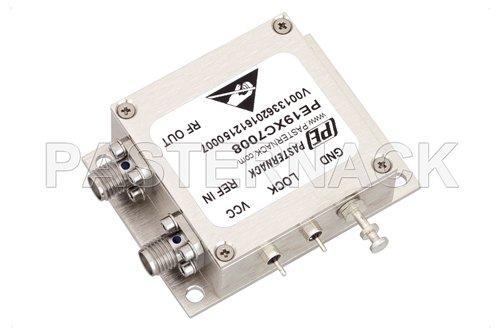 4 GHz Phase Locked Oscillator, 100 MHz External Ref., Phase Noise -110 dBc/Hz, SMA