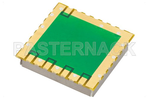 Surface Mount (SMT) 500 MHz Phase Locked Oscillator, 10 MHz External Ref., Phase Noise -105 dBc/Hz, 0.9 inch Package