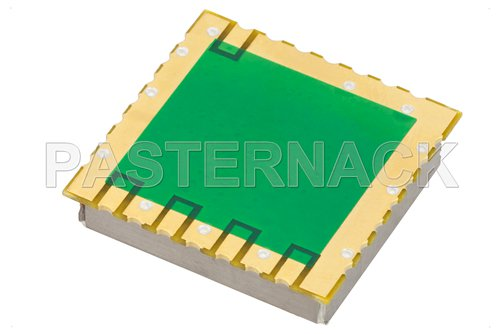 2 GHz Phase Locked Oscillator in 0.9 inch SMT (Surface Mount) Package, 10 MHz External Ref., Phase Noise -100 dBc/Hz