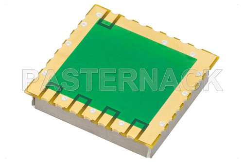 Surface Mount (SMT) 4 GHz Phase Locked Oscillator, 10 MHz External Ref., Phase Noise -98 dBc/Hz, 0.9 inch Package