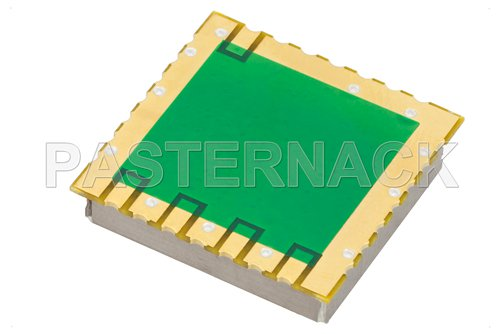 Surface Mount (SMT) 500 MHz Phase Locked Oscillator, 100 MHz External Ref., Phase Noise -110 dBc/Hz, 0.9 inch Package