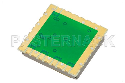 Surface Mount (SMT) 4 GHz Phase Locked Oscillator, 100 MHz External Ref., Phase Noise -110 dBc/Hz, 0.9 inch Package