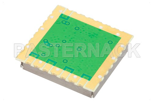 Surface Mount (SMT) 6 GHz Phase Locked Oscillator, 100 MHz External Ref., Phase Noise -90 dBc/Hz, 0.9 inch Package