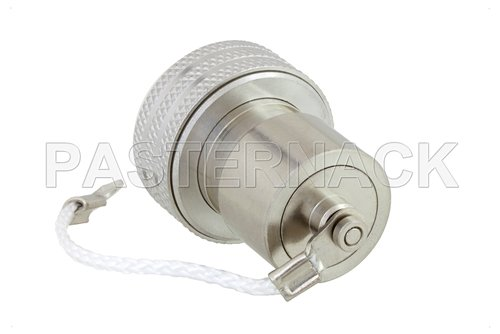 2 Watt RF Load with Chain Up to 6 GHz with 4.3-10 Male Push-On
